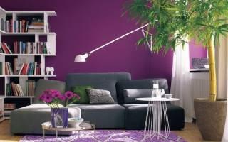 Под какие стили интерьера подходит лавандовый цвет