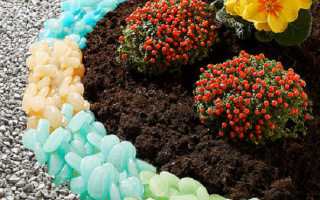 Пластиковые бордюры для клумб
