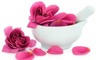 Лепестки роз в уходе за кожей лица