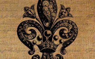 Лилия символ геральдика